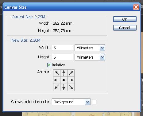 как увеличить размер холста в Adobe Photoshop