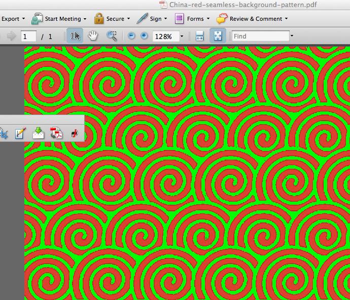 посмотреть сумму красок в Adobe Acrobat