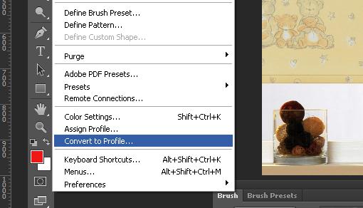 уменьшить сумму красок в Adobe Photoshop